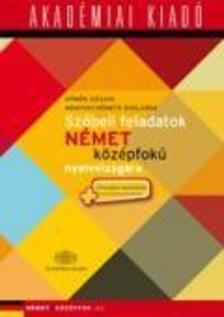 Dömők Szilvia, Mondvay-Németh Boglárka - Szóbeli feladatok német középfokú nyelvvizsgára