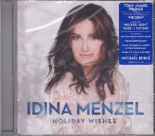 HOLIDAY WISHES CD IDINA MENZEL