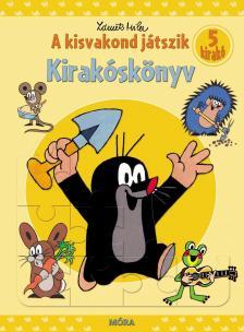 - A kisvakond játszik - Kirakóskönyv