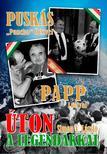 """SIMON V. LÁSZLÓ - ÚTON A LEGENDÁKKAL - Puskás """"Pancho""""Öcsivel , Papp Lacival<!--span style='font-size:10px;'>(G)</span-->"""