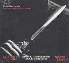 MORRICONE - QUENTIN TARANTINO MOVIES - ENNIO MORRICONE CD