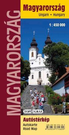 - Magyarország autóstérkép (Puha borítós)