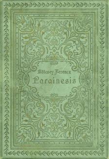 Kölcsey Ferenc - PARAINESIS
