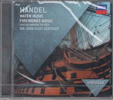 Handel - WATER MUSIC - FIREWORKS MUSIC CD GARDINER