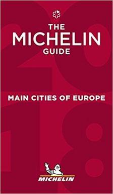 - Európa fővárosai étteremkalauz 2018 (Red Guide) Michelin