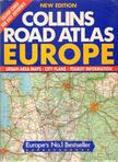 - Collins Road Atlas Europe [antikvár]