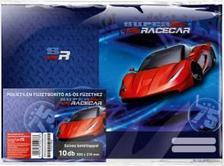 13608 - Füzetborító képes A/5 10 db/cs Super Racecar Red Lightning 17527302