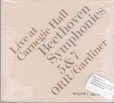 BEETHOVEN - SYMPHONIES 5 & 7 CD GARDINER
