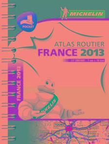 Michelin - Franciaország zsebatlasz 2013