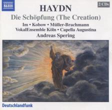Haydn - DIE SCHÖPFUNG 2CD SPERING, CAPELLA AUGUSTINA, VOKALENSEMBLE KÖLN