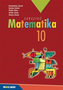 - MS-2310 SOKSZÍNŰ MATEMATIKA 10. OSZTÁLY