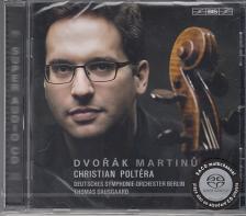 DVORÁK&MARTINU - CELLO CONCERTOS,SACD