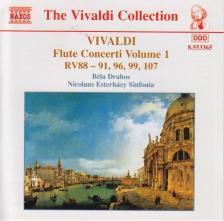 Vivaldi - FLUTE CONCERTI VOL.1 - RV.88-91,96,99,107 CD DRAHOS, NOCILAUS ESTERHÁZY SIN