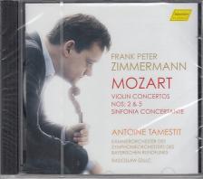 MOZART - VIOLIN CONCERTO,SINFONIA CONCERTANTE,CD