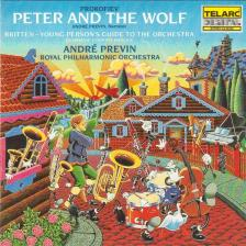 PROKOFIEV, BRITTEN - PETER AND THE WOLF - YOUNG PERSON'S GUIDE CD PREVIN
