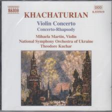 KHACHATURIAN - VIOLIN CONCERTO CD