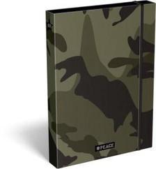 14085 - Füzetbox  A/4 #peace Green 18566201