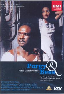 GERSHWIN - PORGY AND BESS DVD RATTLE, WHITE, HAYMON