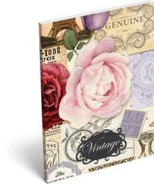 7791 - Notesz papírfedeles A/7 Vintage La Belle 16465701