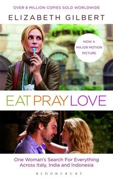 Elizabeth Gilbert - Eat,Pray,Love film tie in