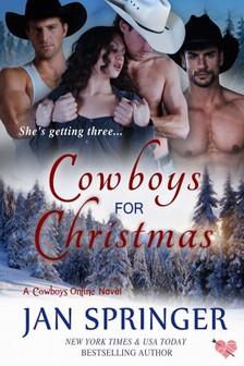 Springer Jan - Cowboys for Christmas (Cowboys Online, #1) [eKönyv: epub, mobi]