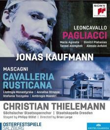 MASCAGNI, LEONCAVALLO - CAVALLERIA RUSTICANA DVD KAUFMANN