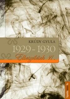 KRÚDY GYULA - Krúdy elbeszélések_VI_1929-1930 [eKönyv: epub, mobi]