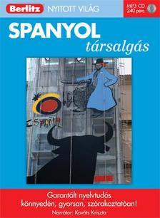 . - SPANYOL TÁRSALGÁS - BERLITZ NYITOTT VILÁG - MP3 CD-VEL