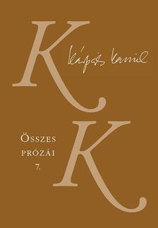Kárpáti Kamil - Kárpáti Kamil Összes prózái 7. - Ahogy nézed - Képzőművészeti esszék