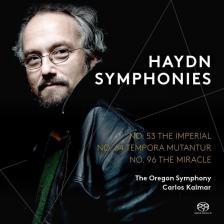 Haydn - SYMPHONIES NOS.53,6&96,SACD