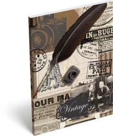 7792 - Notesz papírfedeles A/7 Vintage Le Fin 16465702