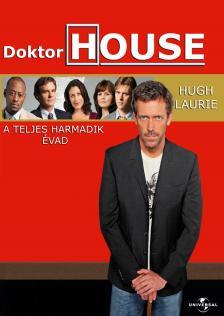 - DOKTOR HOUSE A TELJES HARMADIK ÉVAD DVD