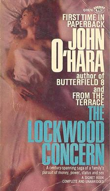 O''HARA, JOHN - The Lockwood Concern [antikvár]