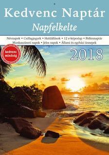 CSOSCH KIADÓ - Kedvenc Naptár 2018 - Napfelkelte