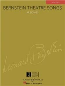 BERNSTEIN - BERNSTEIN THEATRE SONS. 49 SONGS. HIGH VOICE