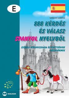 Székácsné László Éva - 888 kérdés és válasz spanyol nyelvből
