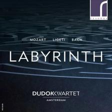MOZART,LIGETI,BACH - LABYRINTH,CD