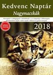 CSOSCH KIADÓ - Kedvenc Naptár 2018 - Nagymacskák