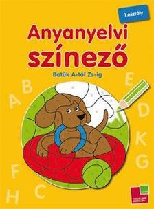 - Anyanyelvi színező - Betűk A-tól Zs-ig