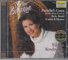 PACHELBEL, BACH, HANDEL, SCARLATTI - A NEW BAROQUE CD YOLANDA KONDONASSIS
