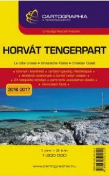Cartographia Kiadó - HORVÁT TENGERPART - ORSZÁGRÉSZTÉRKÉPEKKEL (1:200 000)* CARTO