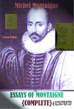 Michel Montaigne, Charles Cotton, Carew Hazlitt, Murat Ukray - Essays of Montaigne [eKönyv: epub,  mobi]