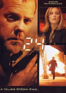 - 24 DVD A TELJES ÖTÖDIK ÉVAD