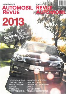 - Automobile Revue 2013 *****