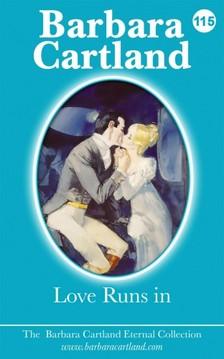 Barbara Cartland - Love Runs In [eKönyv: epub, mobi]