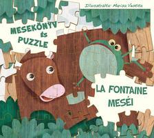 White Star Kids - La Fontaine meséi - mesekönyv és puzzle