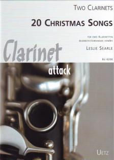 20 CHRISTMAS SONGS FÜR ZWEI KLARINETTEN BEARBEITET VON LESLIE SEARLE
