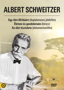 Albert Schweitzer - Albert Schweitzer díszdoboz (könyv játékfilm és dokumentumfilm melléklettel)