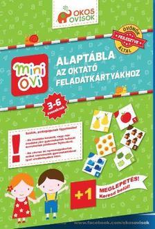 - Mini Ovi Alaptábla az oktató feladatkártyákhoz - 3-6 éveseknek