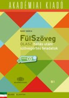 Nagy Mária - FülSzöveg Olasz hallás utáni szövegértés feladatok B1  +Audió CD